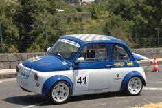 Rally Fiat 500 von Photo de Vincenzo