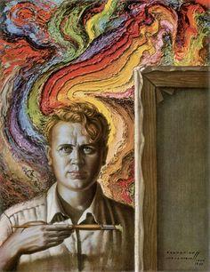 Self-Portrait by Vladimir Tretchikoff.