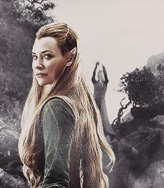 'The Hobbit: The Desolation of Smaug' clip: Will the Elves fight? Legolas And Tauriel, Thranduil, Gandalf, Lotr, Hobbit Desolation Of Smaug, Epic Gif, Misty Eyes, Concerning Hobbits, Elfa