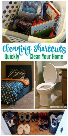 #ad These cleaning shortcuts will help you tidy up your home in minutes, just in time for those unexpected visitors, or help you keep up on your cleaning duties