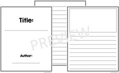 Free Booklet Template Free Printable Comic Book Templates  Pinterest  Free Printable And .