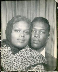 Vintage 1950's couple