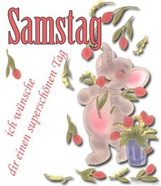 Samstag Saturday Greetings, Place Card Holders, Animation, Christmas Ornaments, Holiday Decor, Happy, Easter, Humor, Facebook