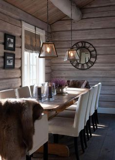 ideas for kitchen table chairs modern furniture Kitchen Decor, House Design, Home Decor Kitchen, Cabin Interiors, Kitchen Design Modern White, Home, Kitchen Table Chairs, Home Decor, Rustic Kitchen