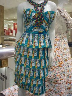 Skittle Wrapper Dress