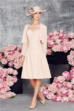 MagBridal Bridal Dresses Online,Wedding Dresses Ball Gown, fabulous tulle chiffon bateau neckline a line mother of the bride dress with lace appliques Groom Outfit, Groom Dress, Evening Gowns With Sleeves, Evening Dresses, Mothers Dresses, Bride Dresses, Lace Dresses, Wedding Party Dresses, Party Gowns