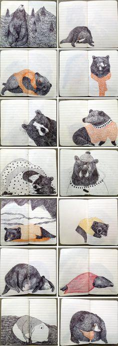 Lieke van der Vorst bears book