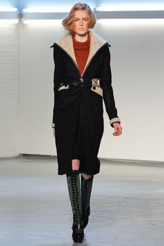 Rodarte Fall 2012 Ready-to-Wear Fashion Show - Linnea Regnander