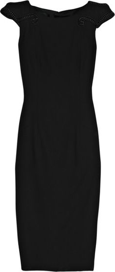L'Wrenn Scott Embellished Wool-blend Dress   # Pinterest++ for iPad #