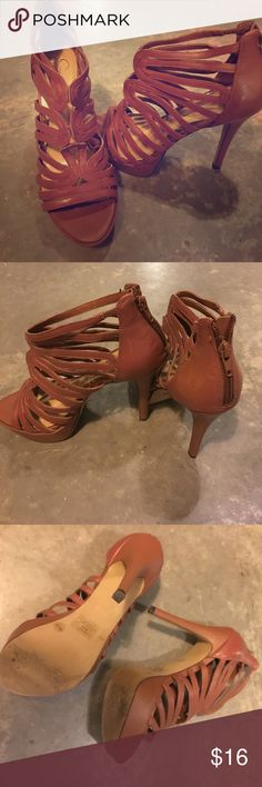 Shoes! Love these Jessica Simpson brown strappy ankle pumps! Worn once! Look amazing pairs with jeans or a dress. So flattering with a 4 inch heel and 1 inch platform. Perfect all spring and fall! 💕 Jessica Simpson Shoes Sandals