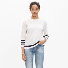 striped mapbook sweater.