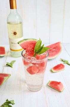 Wine, club soda, and fresh fruit are the ingredients for a summer cocktail that won't push you over the edge or lead to an unwanted sugar rush. Get the recipe here.
