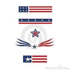 Americana set 1 graphics