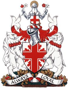 Arms of The St. George's Society of Toronto St George Flag, George Cross, Saint George, Union Jack Tattoo, Happy St George's Day, Great Britan, St George's Cross, St Georges Day, England Football