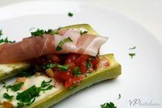recipe/ stuffed zucchini
