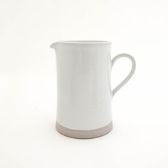 Hand-Crafted Large Ceramic Pitcher on AHAlife