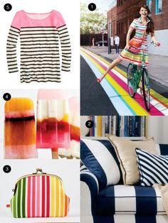 Seeing Stripes: Mood Board #birchbox