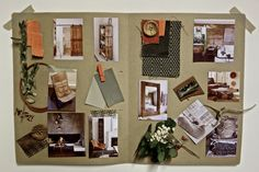 Modern country chic project. Inspiration by @asunlluro | Eclectic Trends Studio Moodboarding Workshops