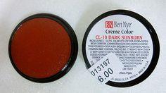 Ben Nye Primary Colors Creme Liners Dark Sunburn CL-10 Creme Makeup .25oz