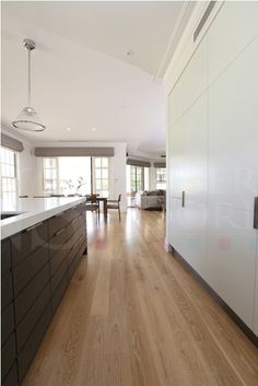Images of American Oak Timber Flooring projects by NS Timber Flooring of Brisbane Wide Plank Flooring, Wooden Flooring, Kitchen Flooring, Hardwood Floors, Engineered Timber Flooring, Kitchen Laminate, Oak Laminate Flooring, Vinyl Flooring, Floating Floorboards