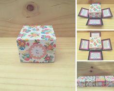 Cajitas diseñadas para regalo con mensaje Decorative Boxes, Home Decor, Creative Crafts, Gift, Boxes, Messages, Creativity, Home Interior Design, Decoration Home