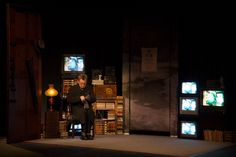 "MAN IN A CASE was commissioned and premiered by Hartford Stage Company, premiering March 1, 2013. Adapted from Two Short Stories by Anton Chekhov ('The Man in a Case' and ""About Love'). Adapted and Directed by Annie-B Parson and Paul Lazar / Big Dance Theater"