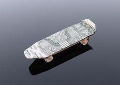 Dollar Bill Origami Skateboard by craigfoldsfives.deviantart.com