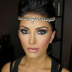 Która z Was nie marzyła by zostać księżniczką choć raz? W karnawale wszystko jest możliwe #makeup #carnival #party                                                                                                                                                     Mais
