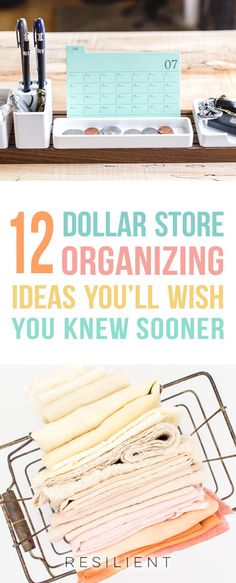 Organizing your home doesn't have to cost a ton of money. In fact, there are many Dollar Store organizing hacks that you can do for.
