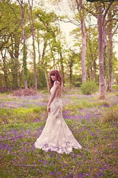 The Woodland area at Mains Hall Manor has bluebells like this photo here - every May - just perfect for your wedding photos! We love this type of 'Outdoor Space'!