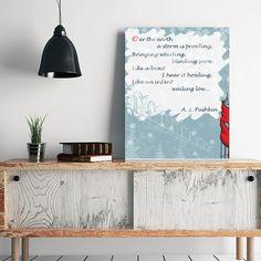 Get your favorite Poem on #Canvas
