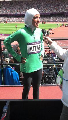 Sarah Attar from Saudi Arabia