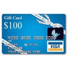 $100 Visa Gift Card #giveaway ends 2/11