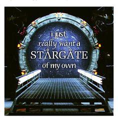 I miss Stargate :(