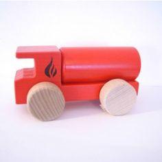 Camion de pompier - citerne- rouge #artisanat #belge #tipiyou
