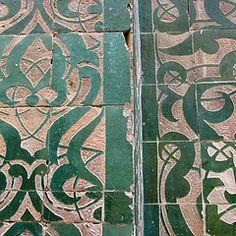 Morocco. #tile #emerald