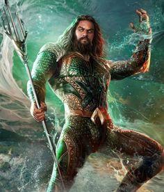 Jason Momoa- Aloha I'm Aquaman now all of ya'll bow down before my awesomeness. Batwoman, Nightwing, Injustice 2, Marvel Vs, Marvel Dc Comics, Mundo Marvel, Anime Comics, Red Hood, Aquaman 2018