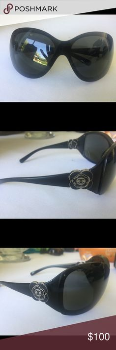 Chanel Flower Sunglasses Authentic 100% authentic - good condition CHANEL Accessories Glasses