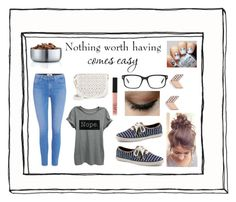 """""""Read DESC"""" by girluntold ❤ liked on Polyvore featuring NARS Cosmetics, FOSSIL, WALL, Keds, Paige Denim, Thread Tank, Under One Sky, Tom Ford and blomus"""