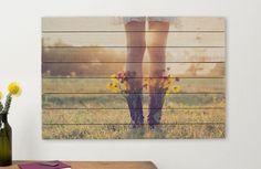 Print Photos on Wood - Durable Wood Printing | Albelli