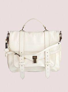 White Proenza Schouler PS1 bag