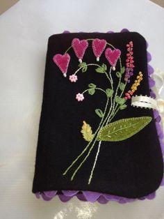Handmade needle case.