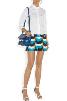 Milly | Dickies printed cotton shorts | NET-A-PORTER.COM