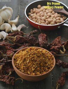 Dry Peanut Chutney Powder, Maharashtrian Shengdana Chutney