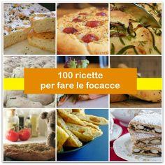 Fraganti e gustose, le focacce sono un alimento goloso a cui non sappiamo rinunciare! In questo post ho raccolto ben 100 ricette divise in due sezioni: focacce salate e focacce dolci. Se volete altre idee in cucina, in questo tag troverete tutte le mie raccolte con 100 link:http://www.paneamoreecreativita.it/blog/tag/100-ricette/ Buon appetito! Ricette salate Focaccia con pasta...