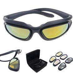 Radians Journey seguridad TIRO CAZA AIRSOFT ARMY Gafas de sol Humo Lente Nuevo
