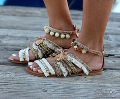 Handmade Leather Sandals made to order Sandals