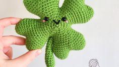 Seamus Shamrock Free Crochet Pattern • Spin a Yarn Crochet