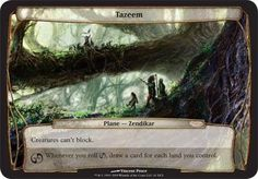 Magic: the Gathering - Tazeem - Planechase - Planes
