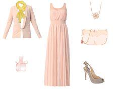 Total rose version robe longue par Felyria
